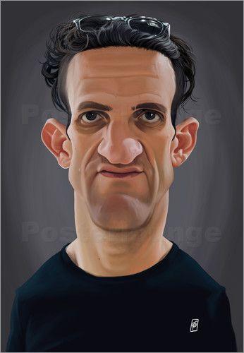 Rob Snow | caricatures - Casey Neistat art | decor | wall art | inspiration | caricature | home decor | idea | humor | gifts