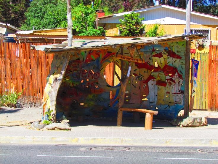 """""""Imaginary Spaceship"""" Isla Negra, Chile"""