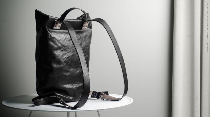 Outsider Backpack . Coal