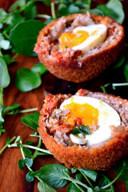 Chorizo and Fennel Scotch Eggs - ever a favourite in Britain, homemade Scotch Eggs take the snack to a completely different level.