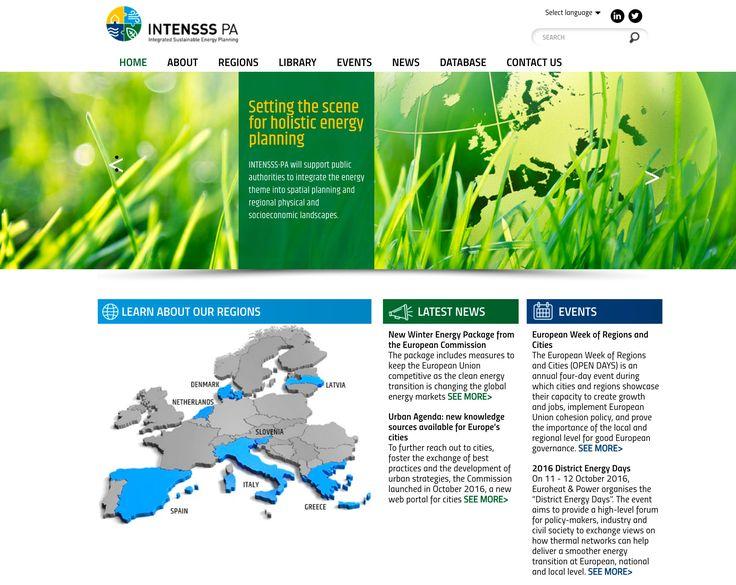 Ny hjemmeside laver for et EU projekt. Vi har lavet Webdesign og Wordpress hjemmeside.