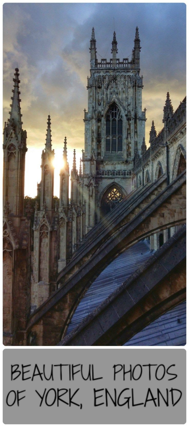 York is a beautiful historic city in the north of England, with a stunning cathedral, York Minster.  Here are some images of York to inspire you to visit the United Kingdom!