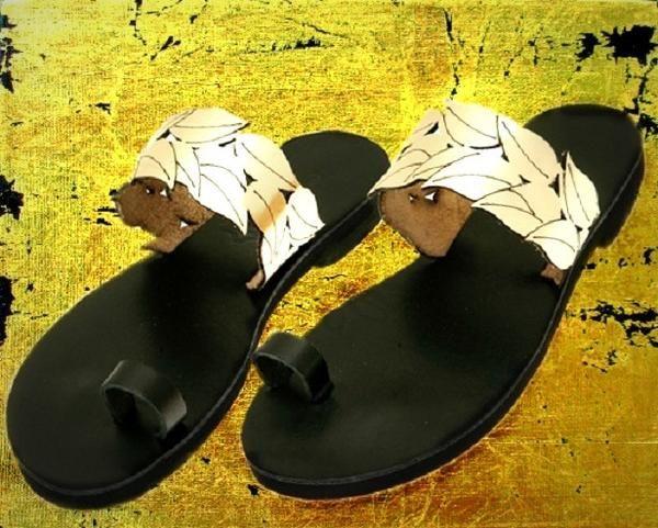 Danais Platinum - flat sandal