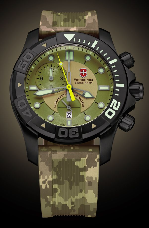 Watch What If: Swiss Army Dive Master 500 Chronograph   watch what if