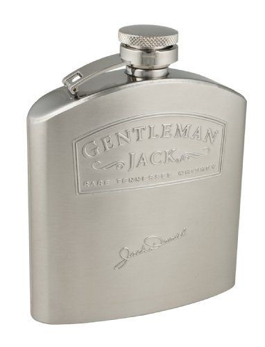 Jack Daniel's Licensed Barware Gentleman Jack Flask, 5-Ounce by Henry Cornell and Associates. $29.36