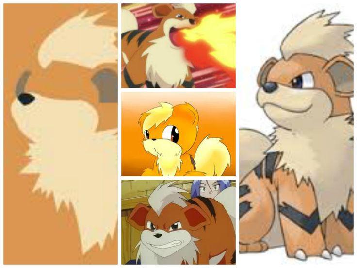 Growlithe(Puppy Pokémon)