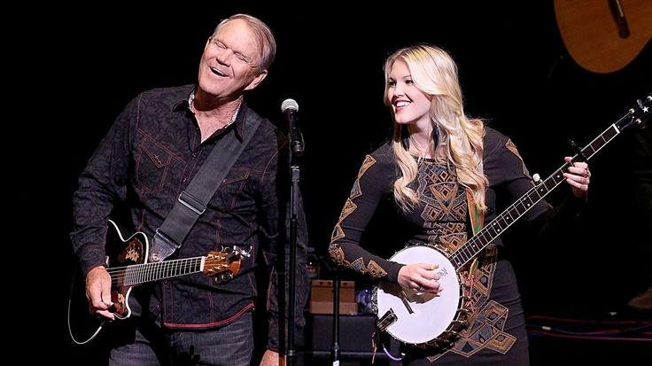 Glen Campbell's Daughter Ashley Details Dad's Declining Health   Rolling Stone