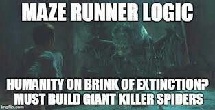 They're actually giant killer slugs. But who said WICKED had common sense anyway?