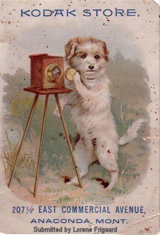 Kodak vintage ad