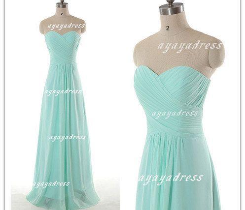 chiffon Bridesmaid Dress cheap bridesmaid dresses by ayayadress