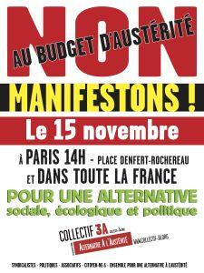 Front de Gauche Crépy en Valois: Samedi 15 novembregrande journée nationale de mobi...