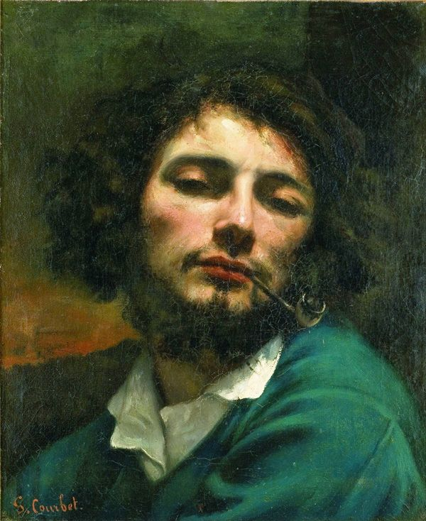 Jean Désiré Gustave Courbet (Jun 10, 1819 ~Dec 31,1877): French painter who led Realist movement in 19th-century French painting, bridged Romantic w/ Barbizon School & Impressionists. Born in Switzerland. Wikipedia http://flavorwire.com/186196/paris-through-my-eyes-the-essences-of-our-favorite-cities-in-art