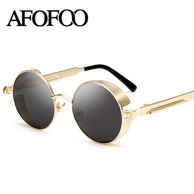 Sunglasses Women Round Sun glasses Retro