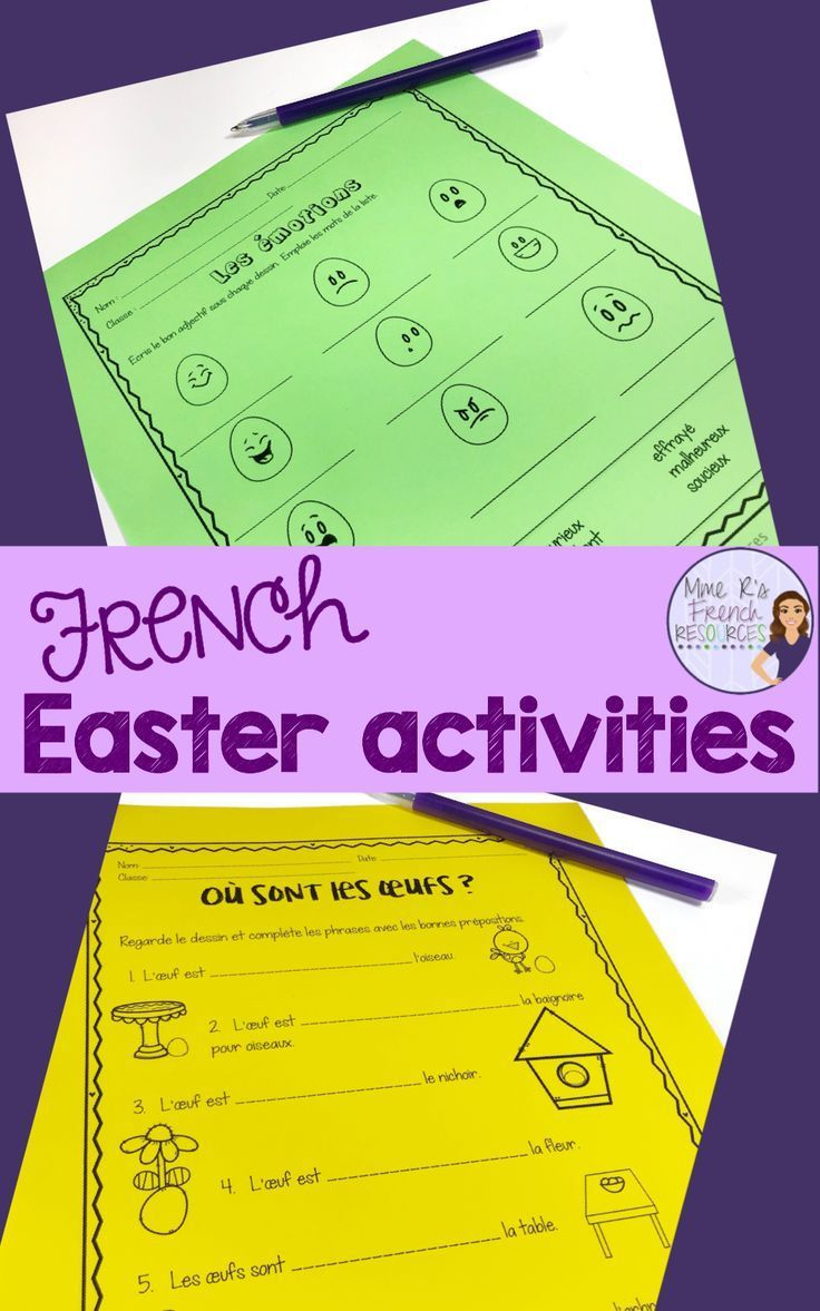 French Worksheets For Vocabulary And Verbs French Speaking Activities Teaching French French Vocabulary [ 1177 x 736 Pixel ]
