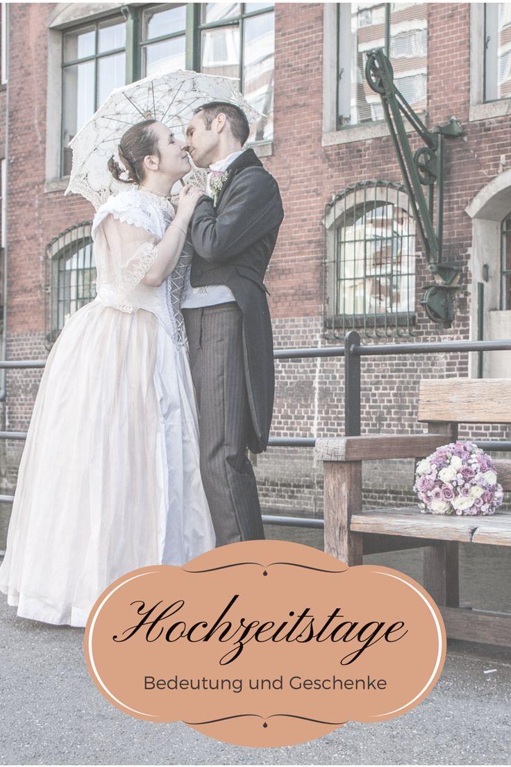 Hochzeitstage: vom 1. bis zum 75. inklusive Bedeutung und Geschenkideen.