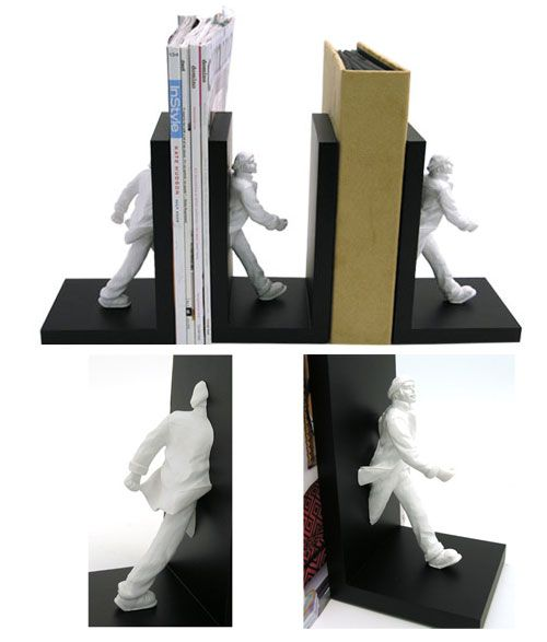 Creative and Unique Bookends Design 56 best images on Pinterest  Book holders