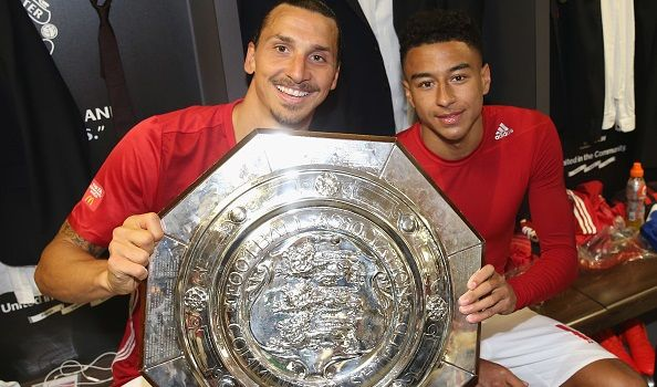 """Jesse Lingard reveals Zlatan Ibrahimovic roundhouse kicked the players' pull-up bar – – """"It sounds like Zlatan Ibrahimovic has livened things up at Man United's training ground. The striker has started well with five goals in nine games  and has also been showing off his impressive athleticism to his team-mates. Jesse Lingard reveals: """"The other day Zlatan kicked the pull-up bar, he just roundhouse kicked it!"""" It's little surprise given he holds a black belt in taekwondo. :P"""