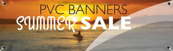 PVC Banners for Summer Sale