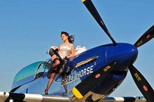 Crazy Horse P-51 Mustang.