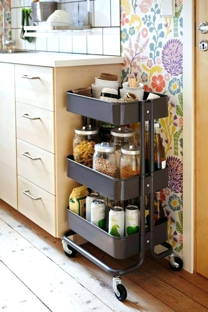 Cute Portable Kitchen Cabinets For Small Apartments