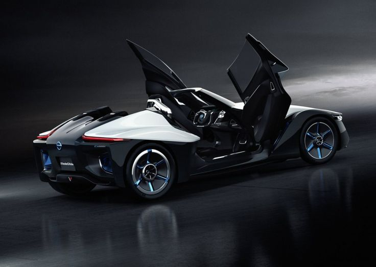 "Newcomer concept vehicle ""Nissan BladeGlider"", debuting at the Tokyo Motor Show, is the future direction of Nissan electric vehicles. Description from article.wn.com. I searched for this on bing.com/images"