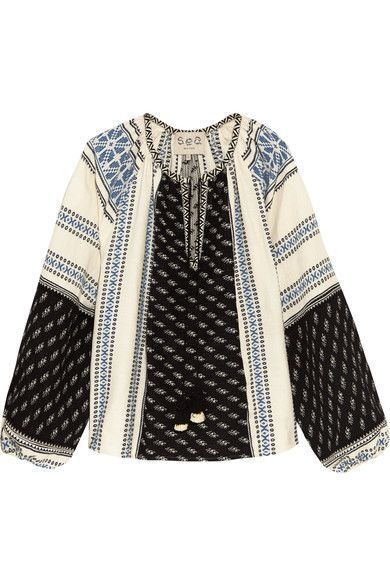 Boho blouse - trends to try - Notes From A Stylist