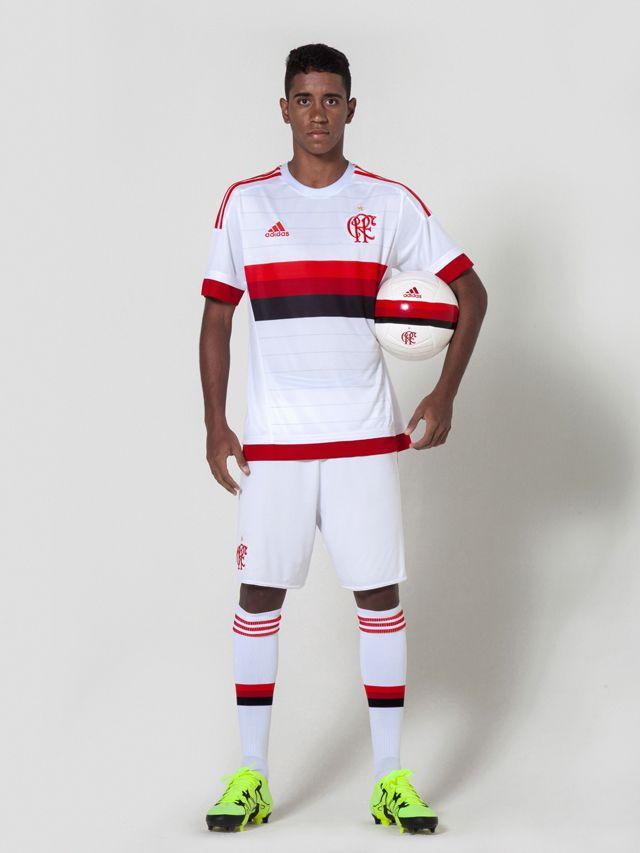 Camisa reserva do Flamengo 2015-2016 Adidas
