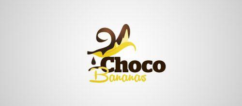 banana choco logo designs