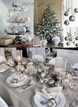 decoracao-chic-para-natal-e-festas-prateada