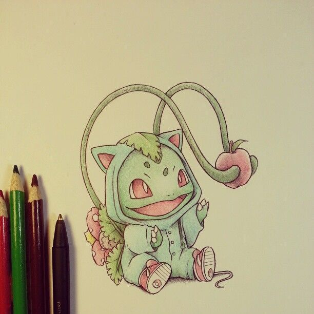 Bulbasaur in his Venasaur onsie by itsbirdy