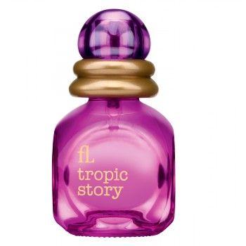 """Дамски парфюм """"TROPIC STORY"""", 30 мл  Жизнерадостный, заряжающий позитивом аромат Tropic Story наполнен сочными красками экзотических фруктов: гуавы, личи, киви и маракуйи. Нежное благоухание гибискуса и османтуса увлекает в тропический рай."""