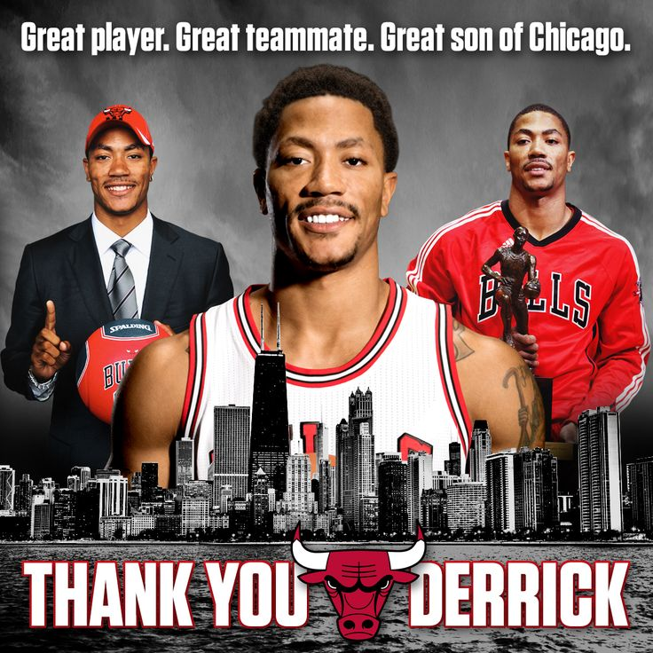 Bulls say goodbye to Derrick Rose | Chicago Bulls. Sad to see him go, but that's basketball...