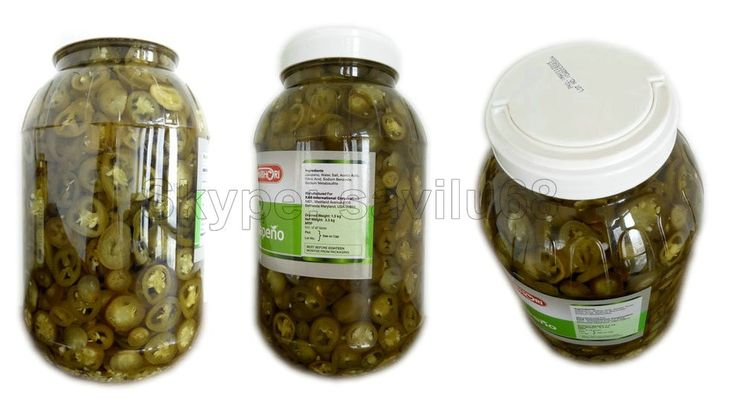 Longlife Pickled Hot Chili In Brine Canned Jalapeno Pepper Fine Workmanship…
