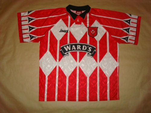 EX-SHEFFIELD-UNITED-HOME-2006-2007-Football-Shirt-Jersey-Soccer-Maglia-Camisa