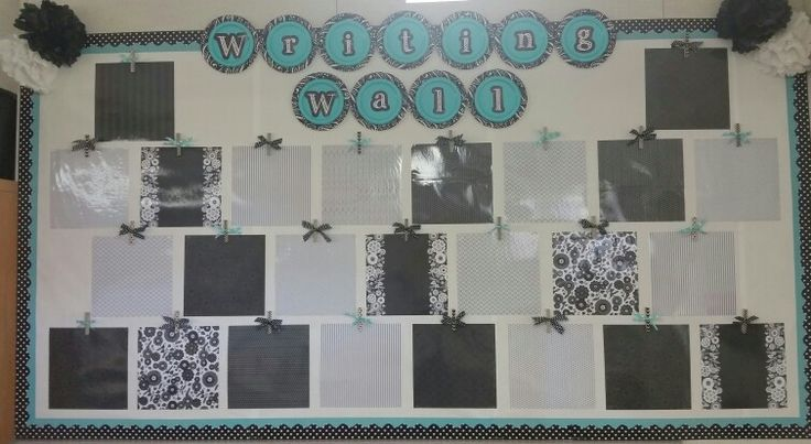 Modern Classroom Board ~ Best ideas about chevron borders on pinterest