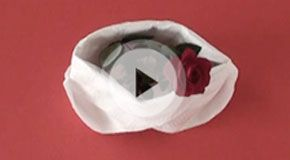 Napkin folding movies #Valentinesday
