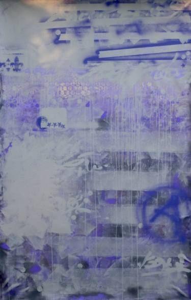 """Saatchi Art Artist Gordon Sellen; Painting, """"Purple Rain"""" #art"""
