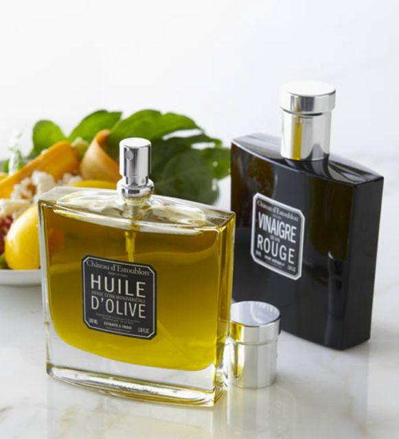 Chateau Estoublon Olive Oil & Vinegar Duo in Spray Decanters