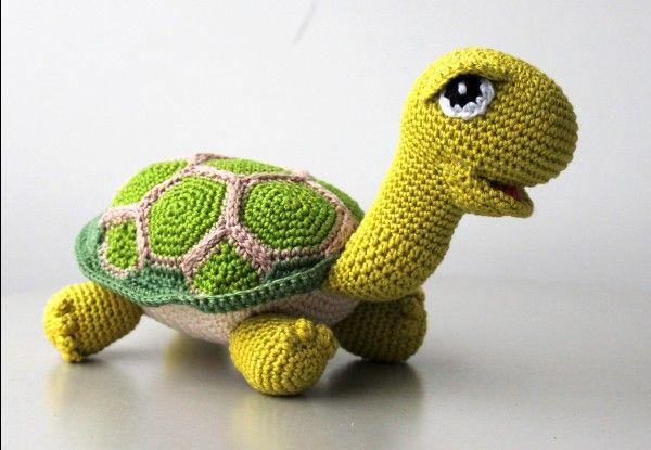 Hakelanleitung Schildkr?te animalitos crochet Pinterest