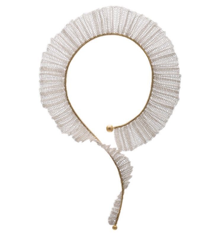 Necklace - PLEATED COLLECTION by FROU FROU