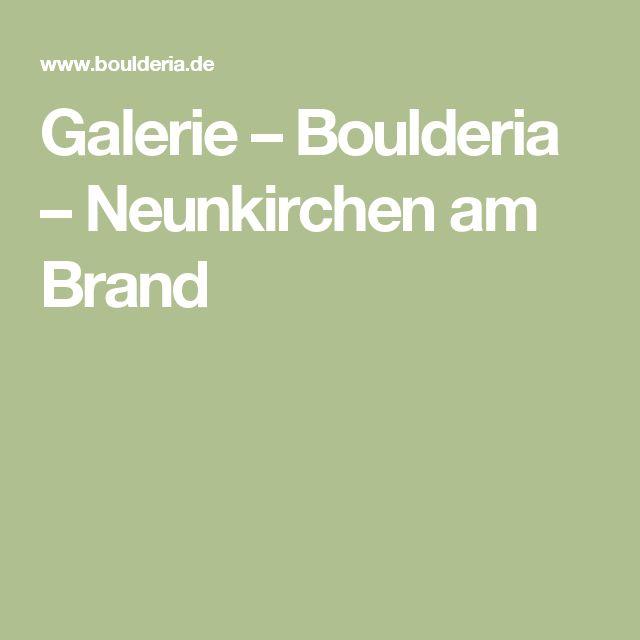 Galerie – Boulderia – Neunkirchen am Brand