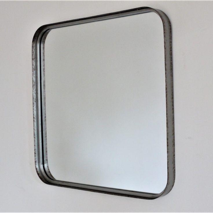 Retro Square Mirror