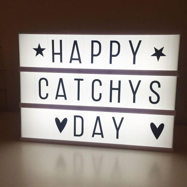<3 HAPPY CATCHYS DAY <3