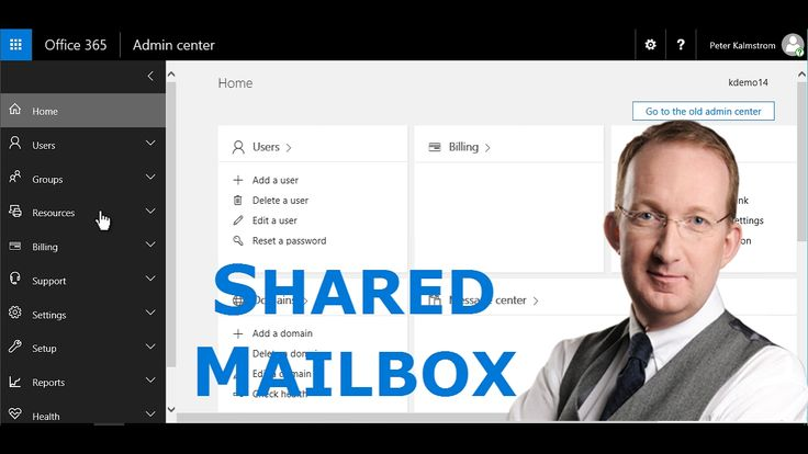 *Create an Office 365 Shared Mailbox and Add to Outlook* Create a shared mailbox in Office 365 Exchange and send e-mails with the shared mailbox address from your personal Outlook. Sometimes the shared mailbox is not added to a user's personal mailbox automatically, so Peter Kalmström also shows how to add it manually: http://www.kalmstrom.com/Tips/Office-365-Course/Shared-Mailbox.htm