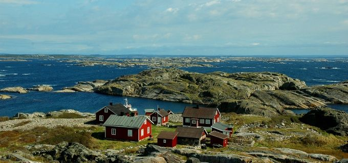 The Koster Islands off of Sweden's coast (and not far from Norway) are quaint, idyllic, and allow no motorized traffic.  A perfect place for a summer picnic dinner party!  #food52 #saveur #summerfoodfights