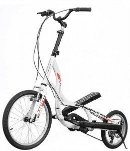 Amazon.com : Zike Z600-6491 White Hybrid Bike folds in half for storage has…