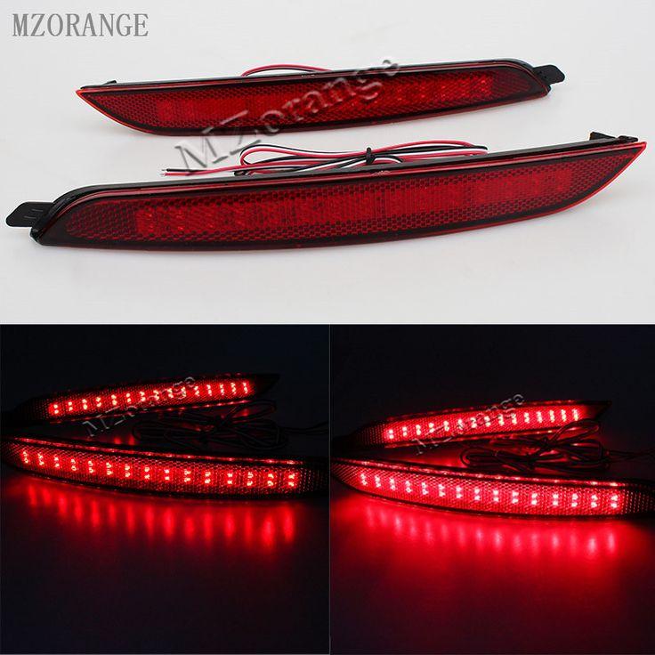MZORANGE 2 Pcs Daytime Running Lights 35 Led ABS Stop Brake Light Car Rear fog lamps For Hyundai elantra 2012 car light source
