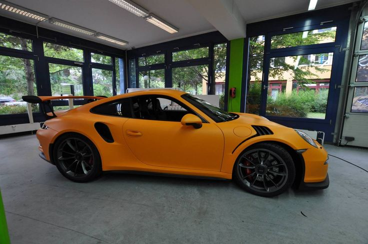 Racing Orange Matt Porsche 911 GT3 RS