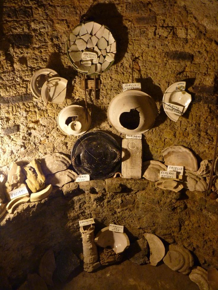Antico forno #etrusco per la #ceramica a #Deruta #Umbria