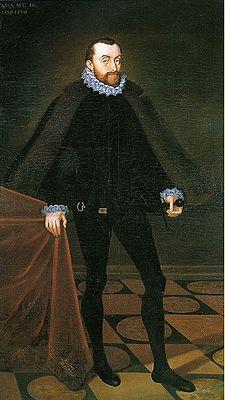 Petr Vok z Rožmberka – 1.10.1539 Český Krumlov-6.11.1611 Třeboň-syn Jošta III.z Rožmberka.Rožmberský vladař 1592-1611-pohřben ve Vyšebrodském klášteře